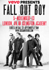 Flyer thumbnail for VEVO Presents: Fall Out Boy