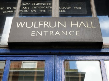 Wulfrun Hall venue photo