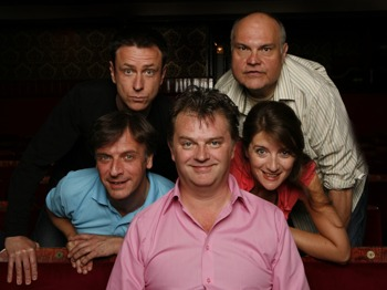 Impro Chums: Paul Merton, Mike McShane, Lee Simpson, Richard Vranch, Suki Webster picture