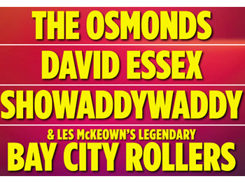 Once In A Lifetime - The Final Tour: The Osmonds + David Essex + Showaddywaddy + Les McKeown's Legendary Bay City Rollers picture