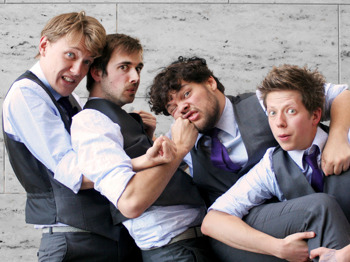 The Beta Males' Buffet: The Beta Males, Nish Kumar, Joe Morpurgo , Jonny And The Baptists picture