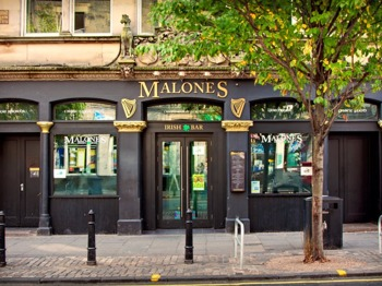 Malone's Irish Bar Edinburgh venue photo