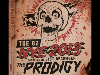 NYE 2013: The Prodigy + Rudimental + Jaguar Skills + Modestep + Slipmatt picture