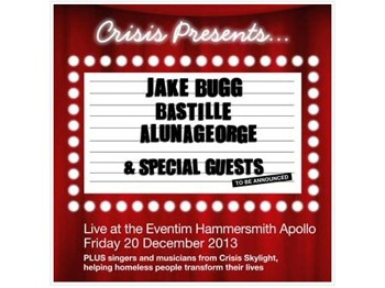 Crisis Presents: Jake Bugg + Bastille + AlunaGeorge picture