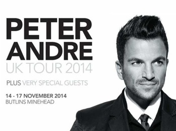 Peter Andre 2014 UK Tour picture
