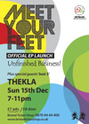 Flyer thumbnail for EP Launch: Meet Your Feet + Just 3
