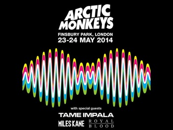 Arctic Monkeys + Tame Impala + Miles Kane + Royal Blood picture