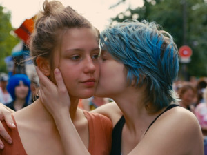 Film promo picture: Blue Is The Warmest Colour