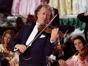 Film promo picture: André Rieu's Home For Christmas