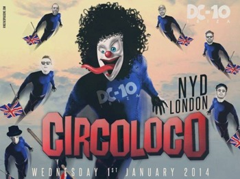 Circo Loco New Year's Day 2014: Davide Squillace + Tale Of Us + Damian Lazarus + Lee Foss + Richy Ahmed + System Of Survival + Clive Henry + DJ Robert James + Infinity Ink picture