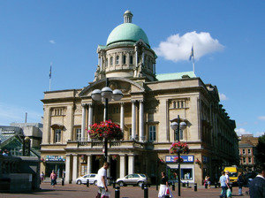 Hull City Hall artist photo