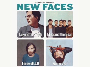 Communion - New Faces Tour: Luke Sital-Singh + Eliza And The Bear + Farewell J.R. + Annie Eve picture