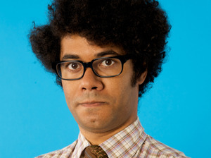 Richard Ayoade artist photo