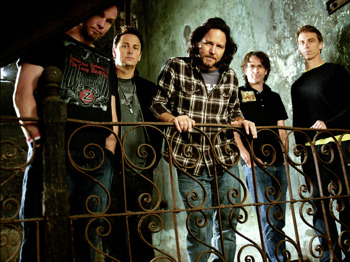 Pearl Jam artist photo