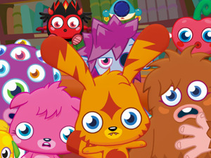 Film promo picture: Moshi Monsters: The Movie