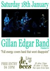 Flyer thumbnail for Gillan Edgar Band