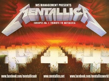Mentallica + Megadeth UK picture