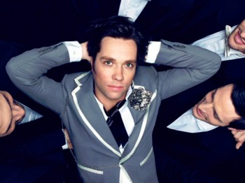 Rufus Wainwright + Adam Cohen picture