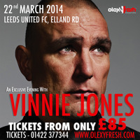 Flyer thumbnail for An Evening With Vinnie Jones: Vinnie Jones