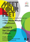 Flyer thumbnail for Jelli Records Present: Meet Your Feet + The Minke Whales + Wolfhound