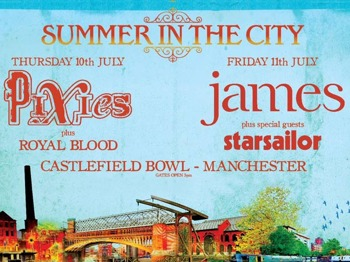 Summer In The City: James + Starsailor picture