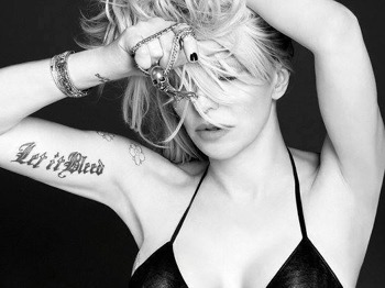 Courtney Love artist photo