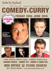 Flyer thumbnail for House Of Stand Up - Comedy & Curry: Alan Francis, Matt Green, Adam Vincent, Ant Dewson, Jack Campbell
