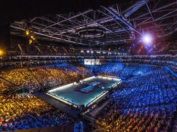 Barclays ATP World Tour Finals artist photo