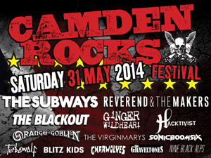 Picture for Camden Rocks Festival 2014