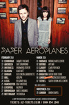 Flyer thumbnail for Paper Aeroplanes + Stu Larsen + Liam Frost