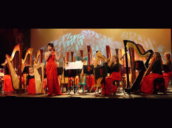 The Magic Of A Thousand Strings: International Harp Ensemble, Faryl Smith picture