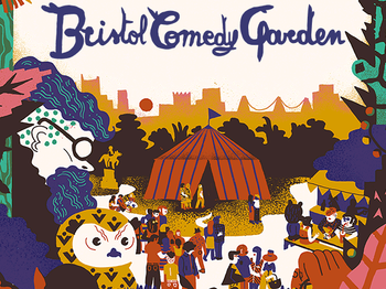 Bristol Comedy Garden 2014: Milton Jones, Shappi Khorsandi, Carl Donnelly, Mark Olver picture