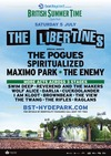 Flyer thumbnail for Barclaycard Presents British Summer Time Hyde Park: The Libertines + The Pogues + Spiritualized + Maximo Park + The Enemy + Swim Deep + Reverend And The Makers + Wolf Alice + Darlia + I Am Kloot + Brownbear + The View + The Twang + The Rifles + Raglans + Cuckoo Lander + Slaves + The Jacques + Lois & The Love