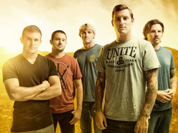 Parkway Drive + Miss May I + The Ghost Inside + Confession picture