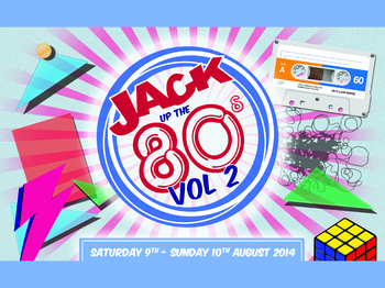 Jack Up The '80s Festival 2014 picture