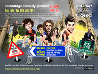 Flyer thumbnail for Cambridge Comedy Festival 2014