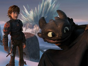 Film promo picture: How To Train Your Dragon 2