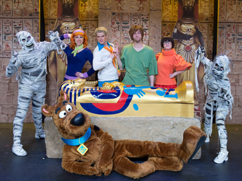 The Mystery Of The Pyramid: Scooby-Doo Live On Stage! picture