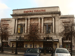 Liverpool Empire Theatre artist photo