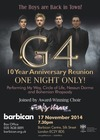 Flyer thumbnail for One Night Only: G4, Jonathan Ansell, Mike Christie, Ben Thapa, Funky Voices