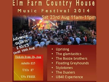 Elm Farm Music Festival 2014 picture