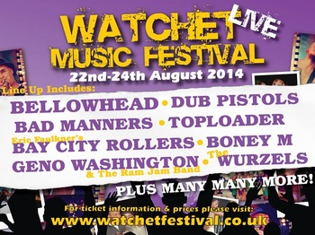 Watchet Live Festival 2014 picture