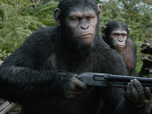 Film promo picture: Dawn Of The Planet Of The Apes