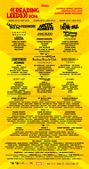 Flyer thumbnail for Leeds Festival 2014