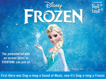 Sing-A-Long-A Frozen artist photo