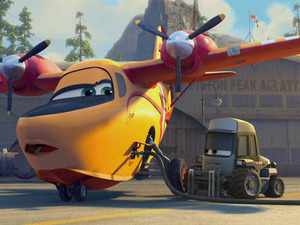 Film promo picture: Planes: Fire & Rescue