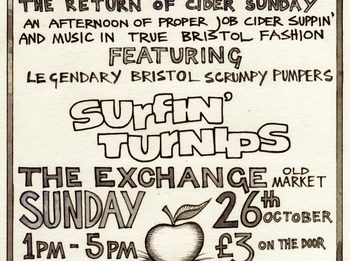 Bristol Cider Sunday Returns: The Surfin Turnips picture
