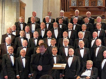Shrewsbury Welsh Society Present: St  David's Day Concert 2013: Trelawnyd Male Voice Choir picture