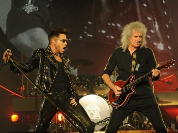 Queen + Adam Lambert picture