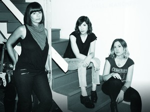 Sleater-Kinney artist photo